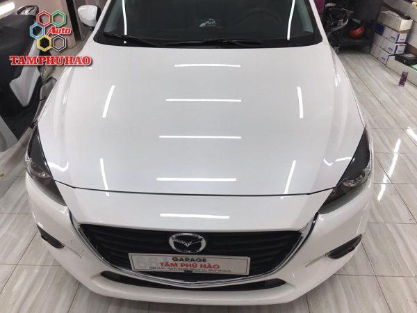 Phủ Ceramic 9H+ cho Mazda 3 ở Cần Thơ
