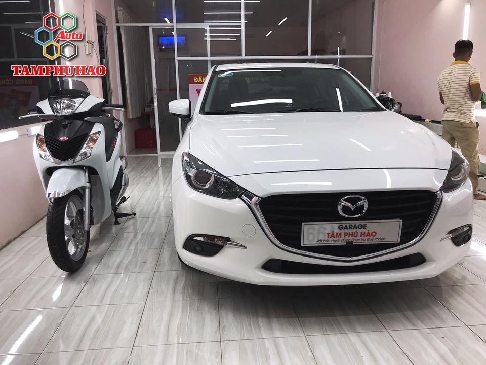 Phủ Ceramic 9H+ cho Mazda 3 ở Cao Lãnh