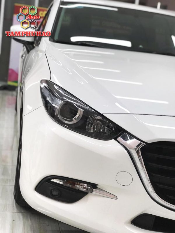 Phủ Ceramic 9H+ cho Mazda 3 ở Tiền Giang