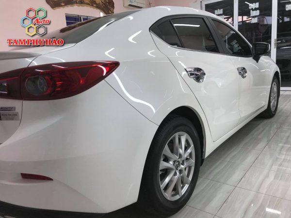 Phủ Ceramic 9H+ cho Mazda 3 ở Vĩnh Long