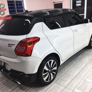 Phủ Ceramic 9H+ cho Suzuki Swift ở An Giang