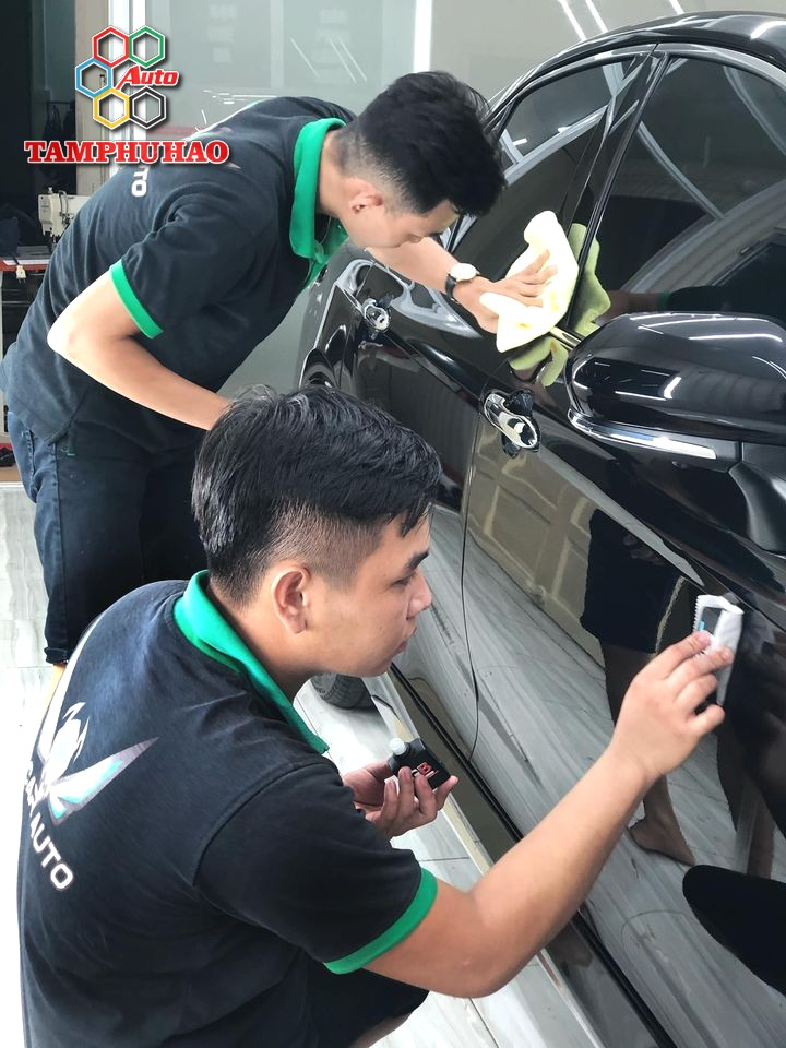 Phủ Ceramic 9H+ cho Toyota Camry 2020 ở An Giang