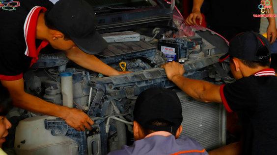 Kiểm tra động cơ ô tô tại Đồng Tháp