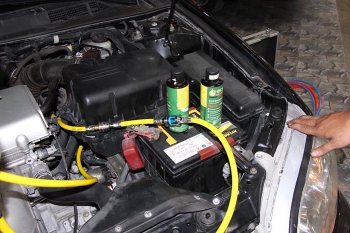 vệ sinh kim phun nhiên liệu ôtô đồng tháp
