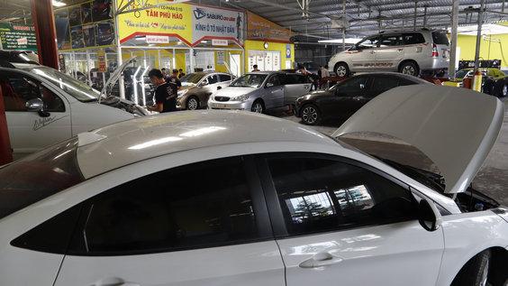 chăm sóc xe hơi tại Đồng Tháp