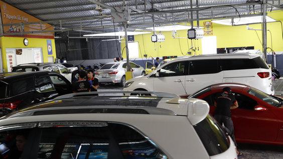 sửa xe ô tô tại Đồng Tháp